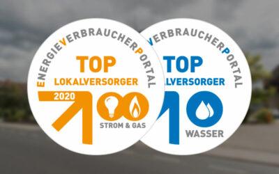 TOP-Lokalversorger 2020 – zum 5. Mal in Folge