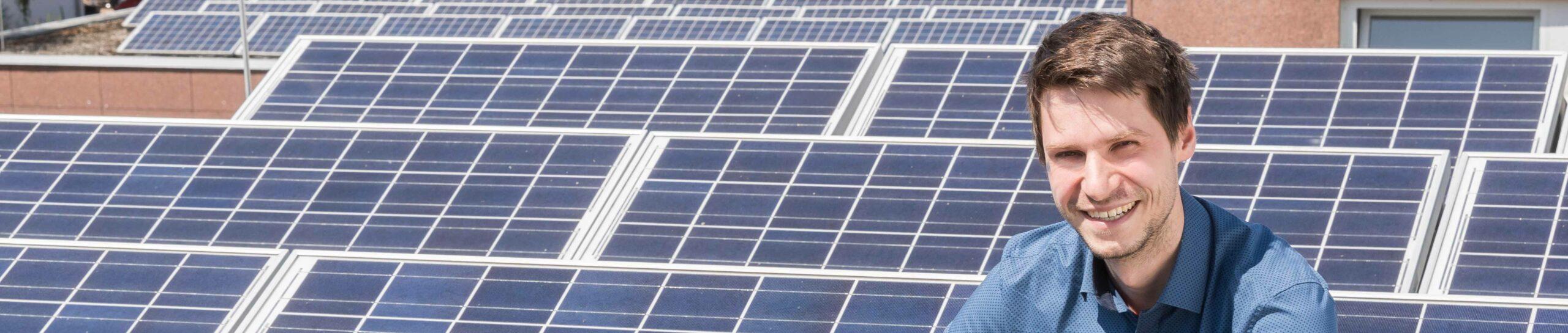 Solaranlage auf dem eigenen Dach