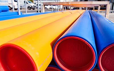 Gasrohrnetzkontrolle: Sicherheit geht vor