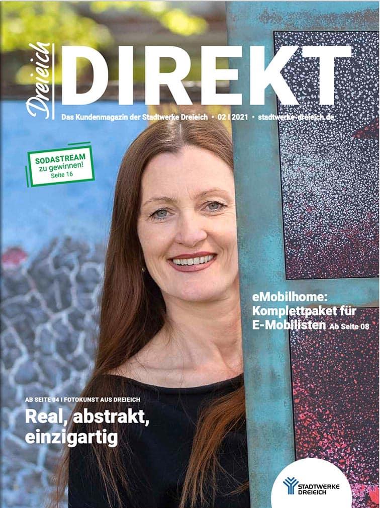 Kundenmagazin Dreieich Direkt mit Dame